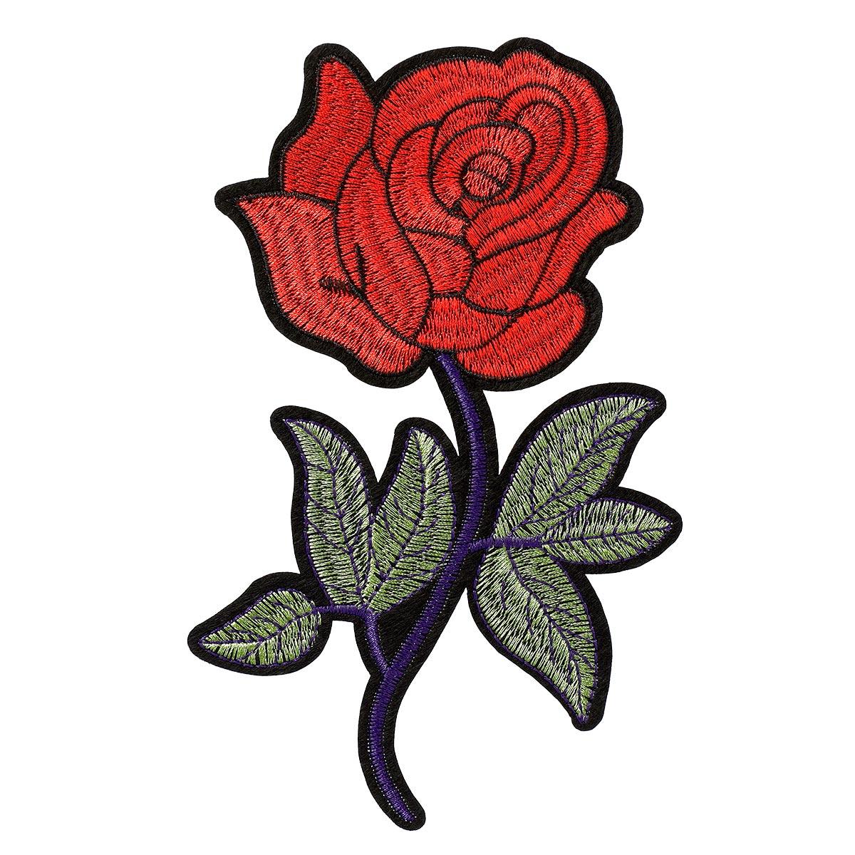 Motif thermocollant rose sans pack - Prima Mercerie