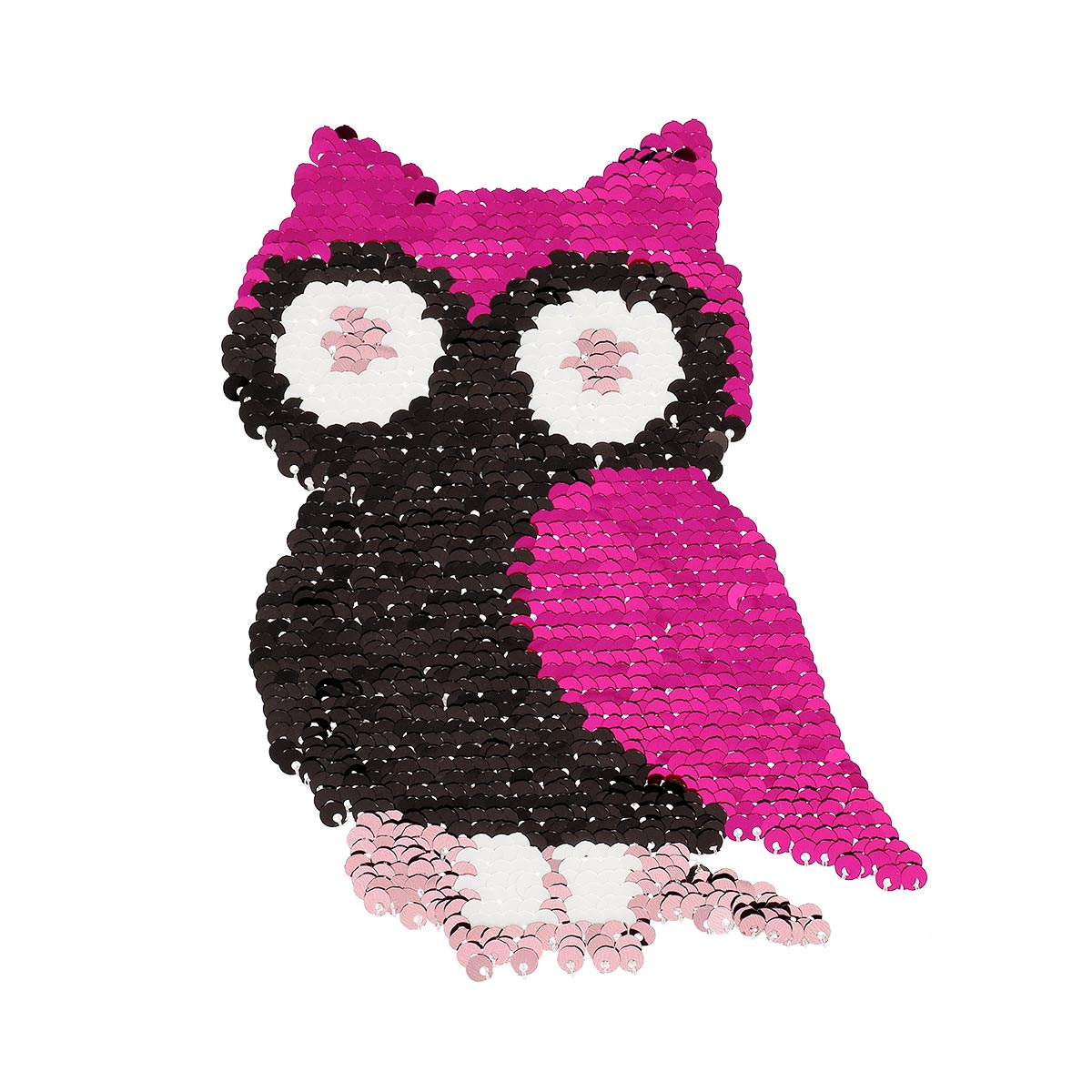 Patch sequin à coudre hibou envers sans pack - Prima Mercerie