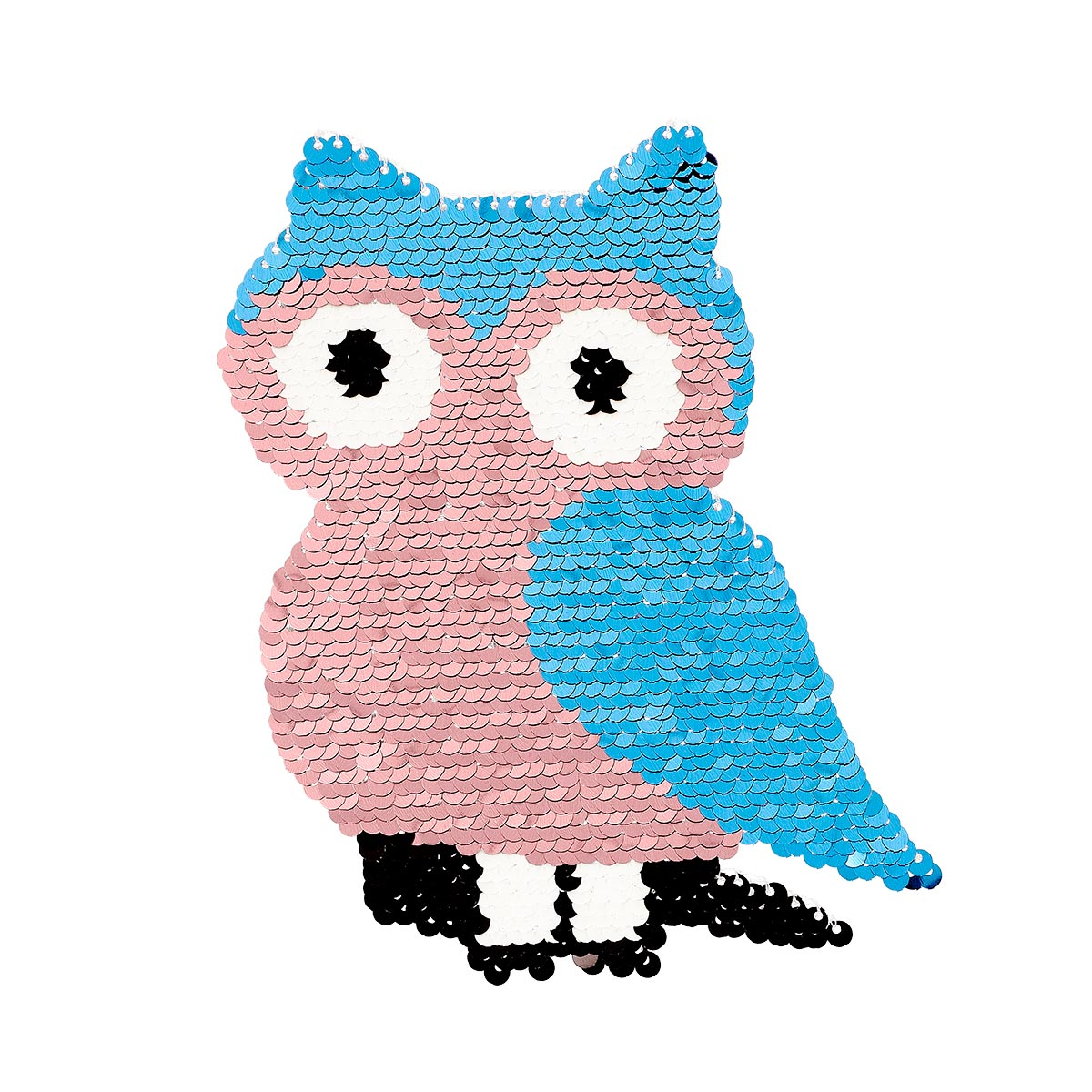 Patch sequin à coudre hibou sans pack - Prima Mercerie