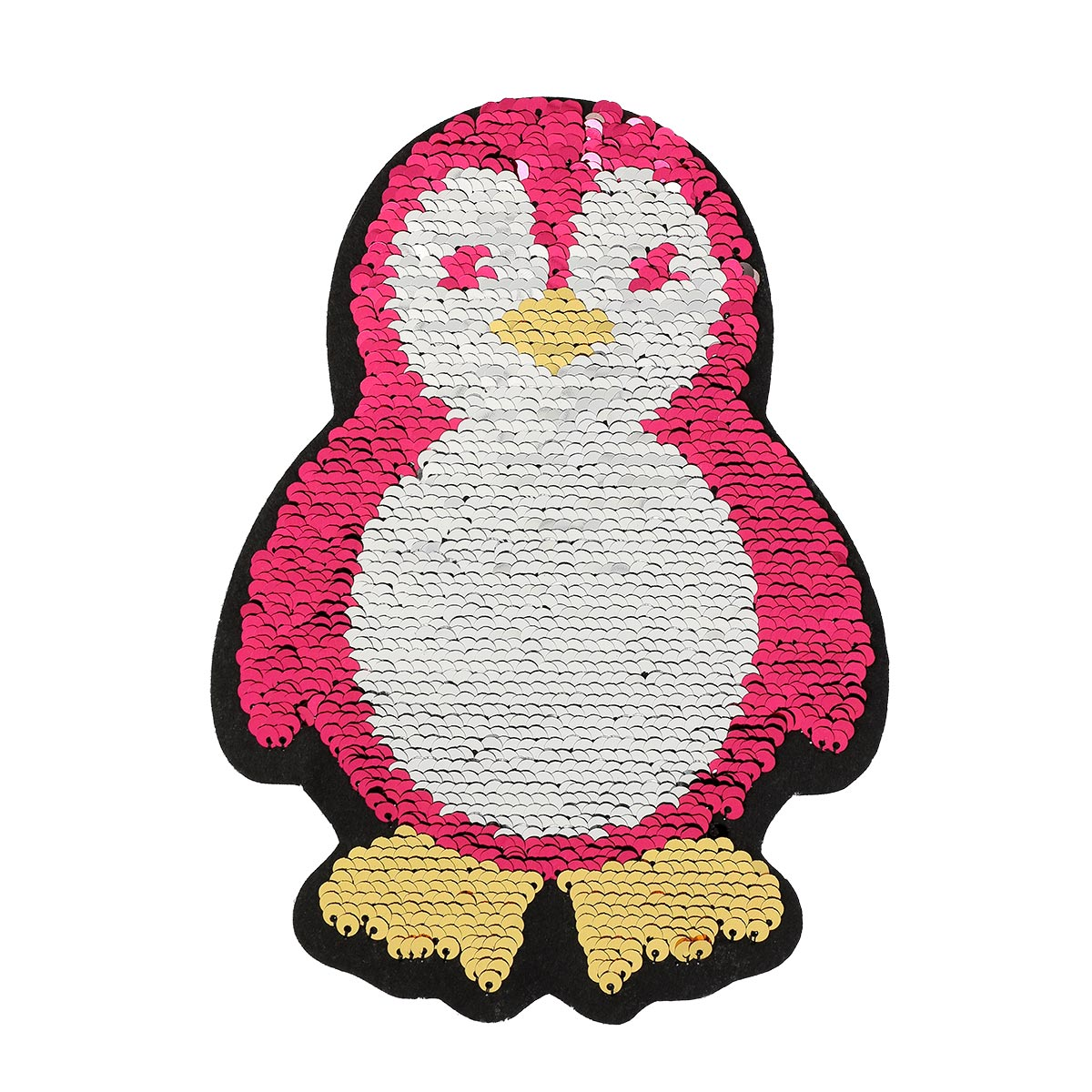 Patch sequin à coudre pingouin envers sans pack - Prima Mercerie