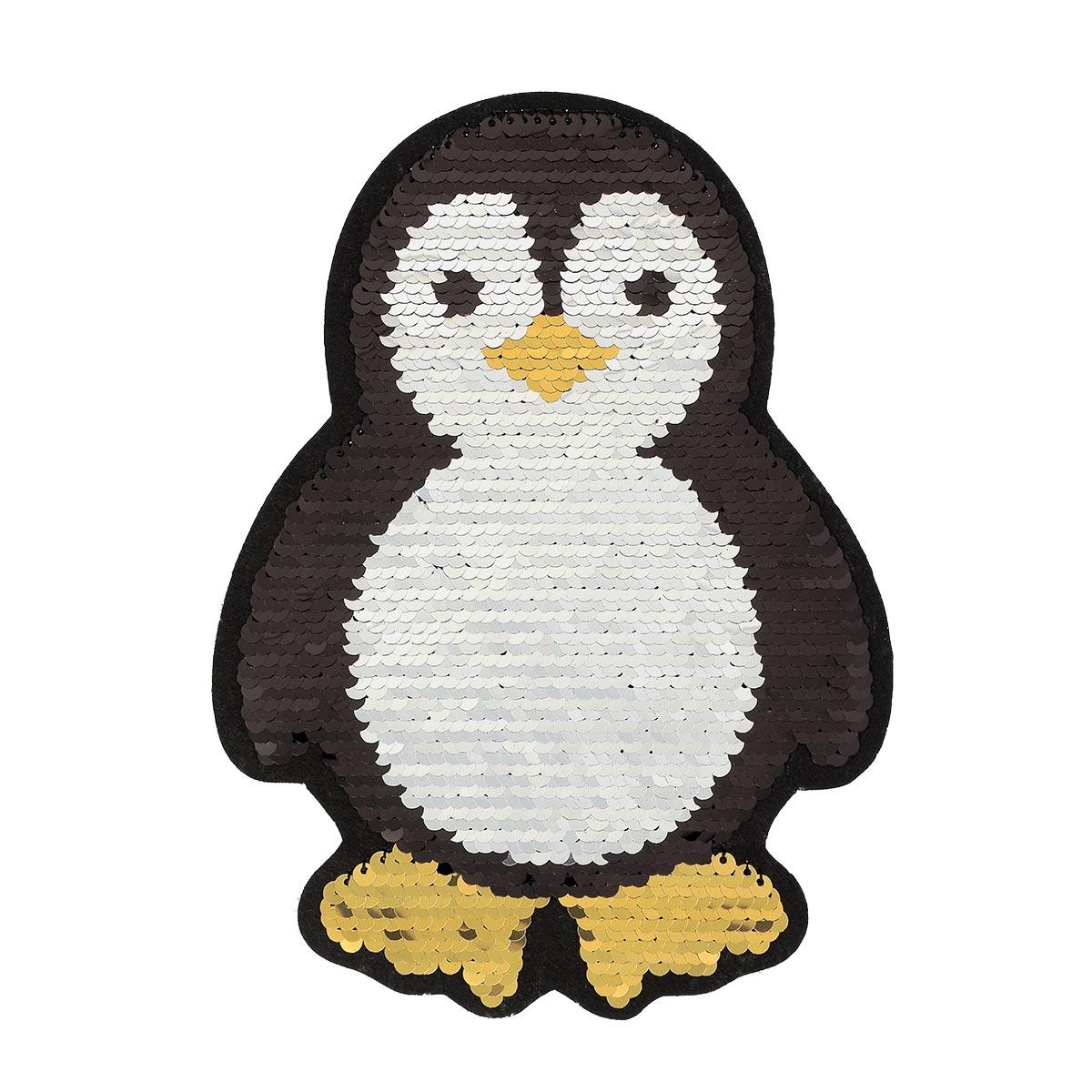Patch sequin à coudre pingouin sans pack - Prima Mercerie