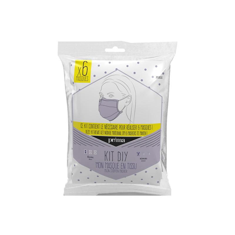 Kit de masques en tissu