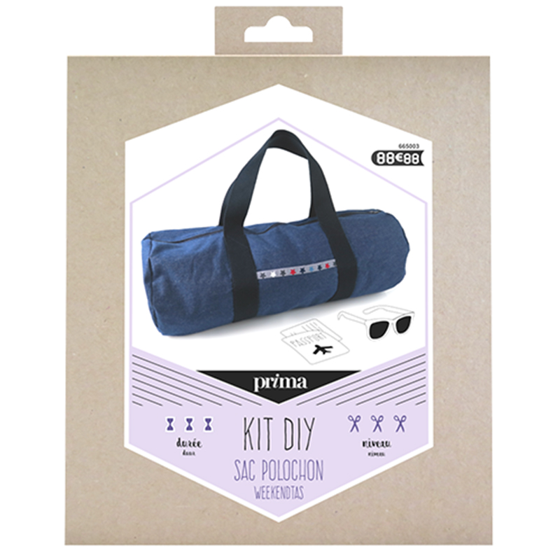 Kit sac polochon - Prima Mercerie