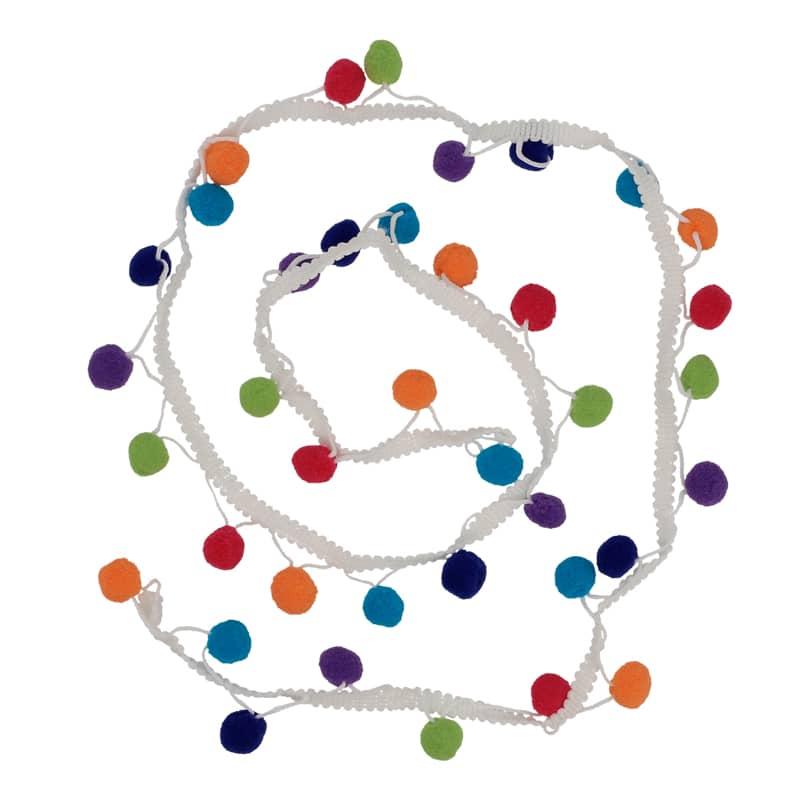 Rubans à pompons multicolores - Prima Mercerie