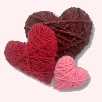 Décorations St-Valentin