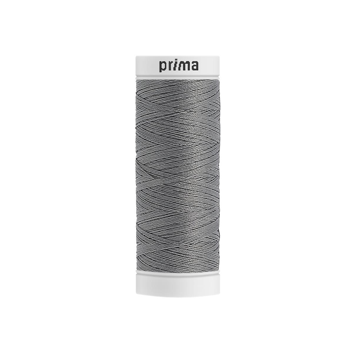 Fil à coudre polyester 200m argent - Prima Mercerie