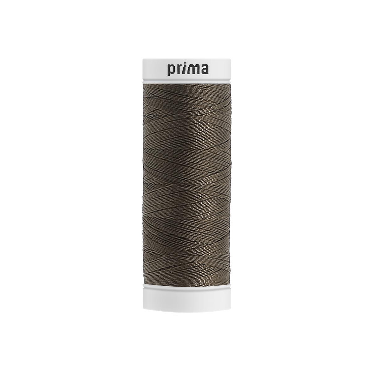 Fil à coudre polyester 200m kaki - Prima Mercerie