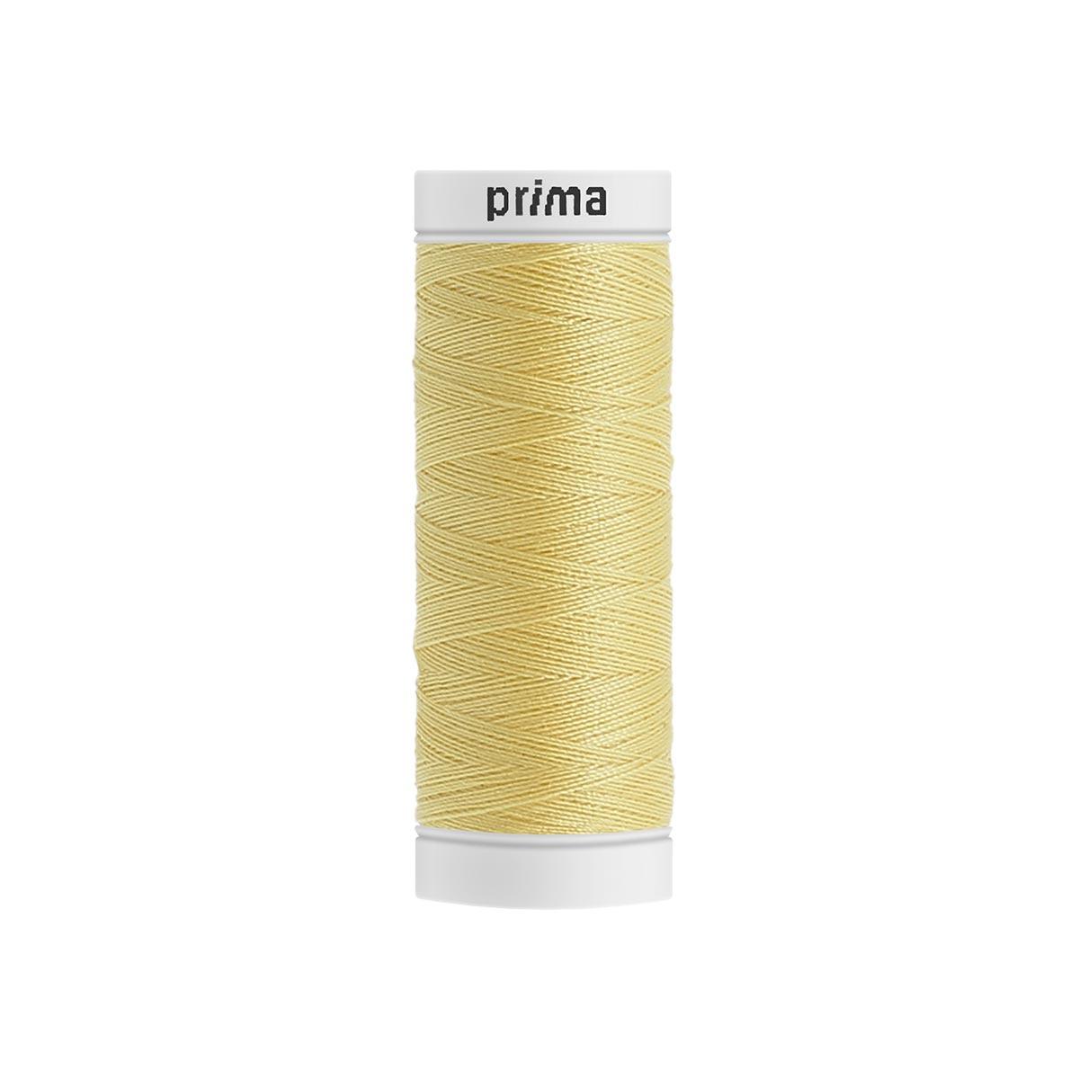Fil à coudre polyester 200m paille - Prima Mercerie