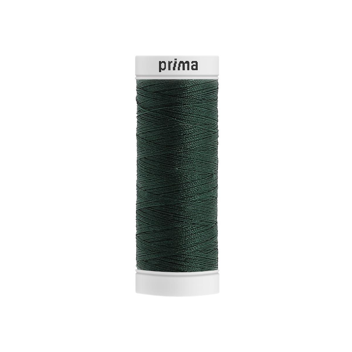 Fil à coudre polyester 200m vert foncé - Prima Mercerie